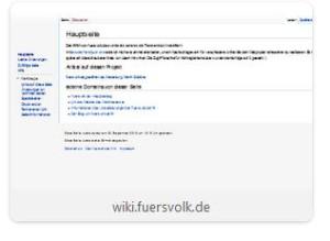 das interne Wiki